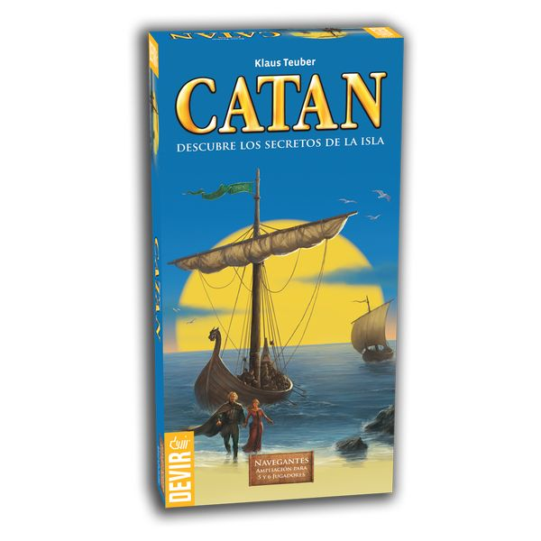Expansion 5-6 jugadores Catan Navegantes